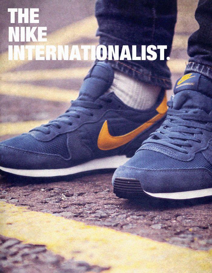 mens nike internationalist blue purple