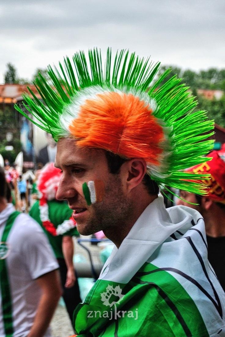 Euro 2012 in Gdansk. Spain vs. Ireland.