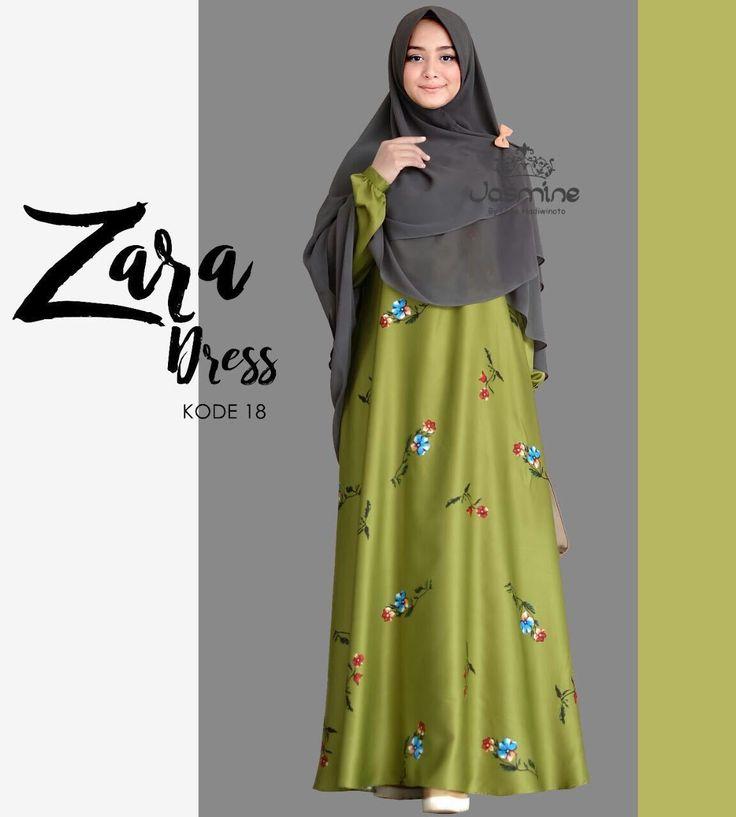 Gamis Jasmine Zara Dress 18  baju  gamis wanita  busana