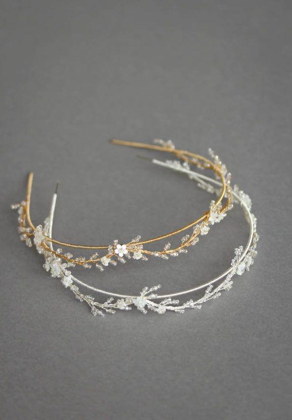 BLANCHETT delicate wedding crown 9