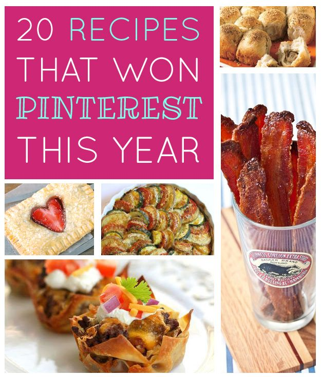 The 20 Recipes That Won Pinterest This Year