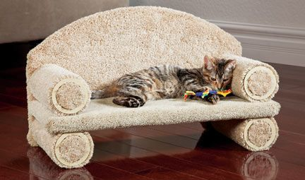 Cat Couch (this one is 80$.. figure out how to make it myself)