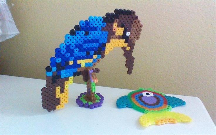 Bird perler beads by Eshan R. - Perler®   Gallery