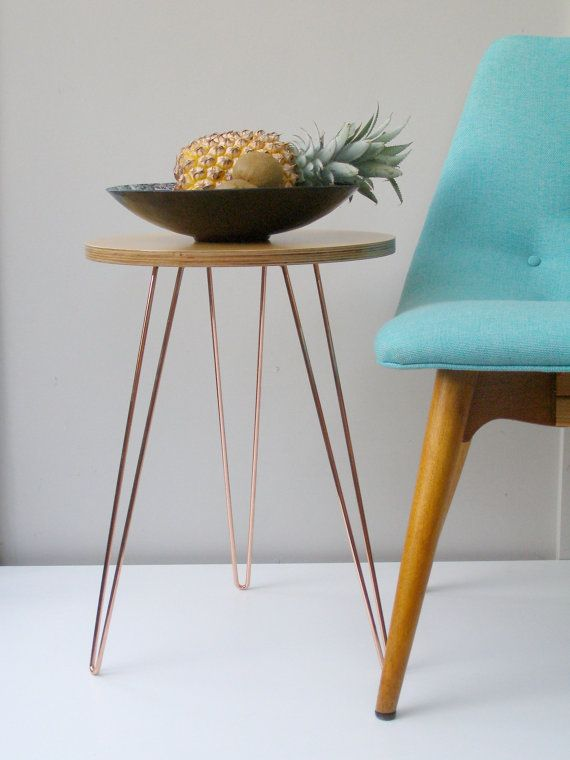 This large modular table top is designed to accompany the Wirely mid-century inspired standard size plant stand. The tabletop is placed on top of the