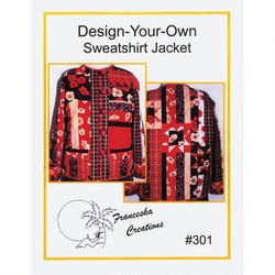 Design_Your-Own Sweatshirt Jacket Pattern $11.99