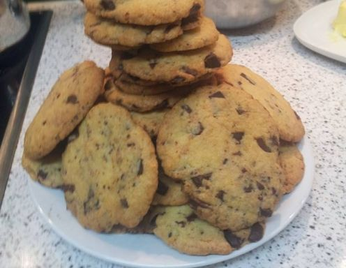 American Chocolate-Chip-Cookies - Rezept - ichkoche.at