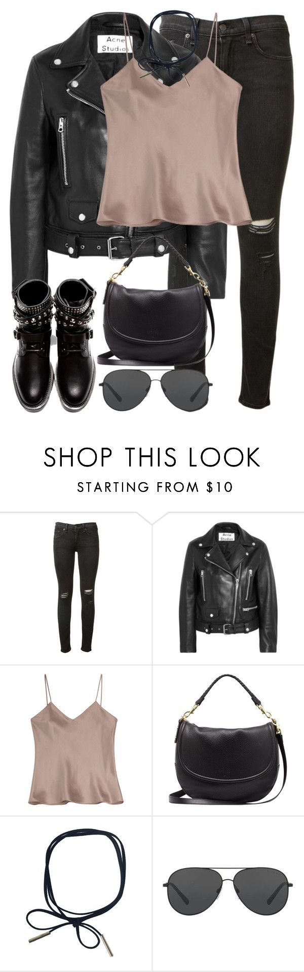 """""""Untitled #2825"""" by elenaday on Polyvore featuring rag & bone, Acne Studios, Etro, Mulberry, Michael Kors and Yves Saint Laurent"""