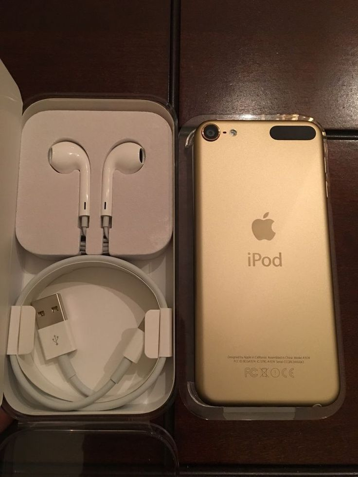 IPOD TOUCH 6TH GENERATION GEN GOLD 16GB Mint #Apple