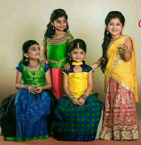 Pattu Pavadai Blouse Designs