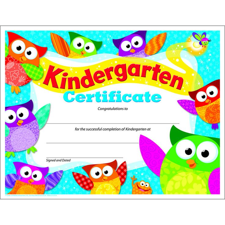 Kindergarten Awards Certificates: 1000+ Ideas About Owls Kindergarten On Pinterest