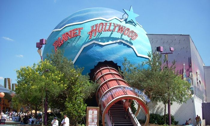 Planet Hollywood - Marne-la-Vallée: Planet Hollywood Planet Kids Menu for 1 child or adult menu (burger choices, sundae and soda) for 1 person from € 7