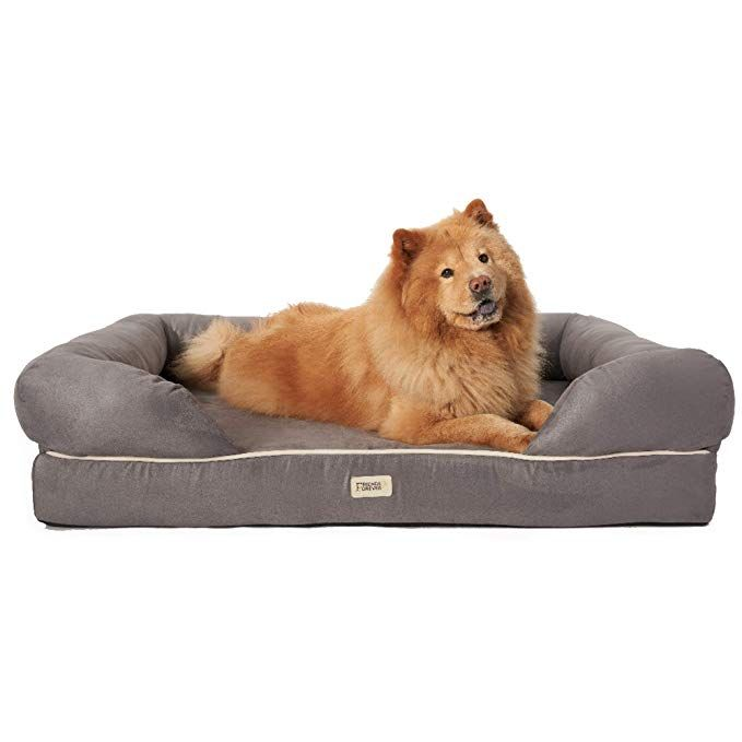 Friends Forever Orthopedic Dog Bed Lounge Sofa Removable Cover 100 Suede 4 Mattress Memory Foam Premium Prestige Edi Dog Bed Large Dog Bed Orthopedic Dog Bed