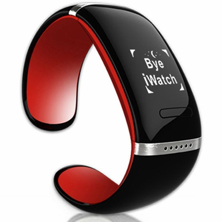 Lincass L12s Oled Smart Vibrating Bracelet and Sports Pedometer Bluetooth Watch with Call Id Display / Answer / Dial / SMS Sync / Music Player / Anti-lost for Samsung / HTC   More Android Smartphones (Red) -- Want to know more, click on the image.