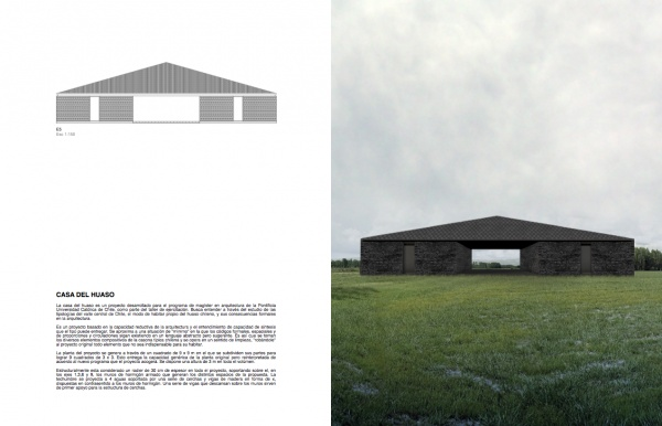 Felipe Grallert - Chile; casa del huaso