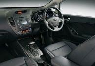 New Kia Cerato interior