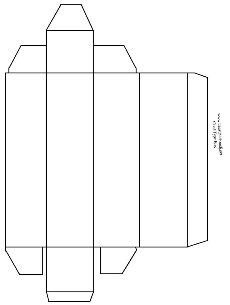 It's just a graphic of Delicate Printable Box Template