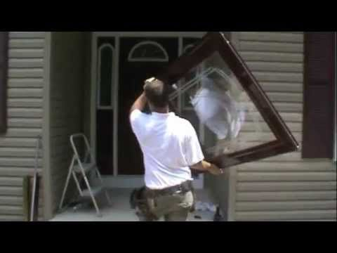 ▶ Great video on how to install a storm door