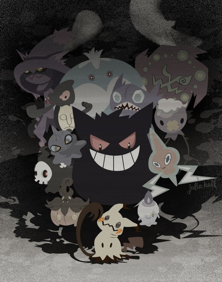 AND MIMIKYU JOINED!!!!! I love ghost types!