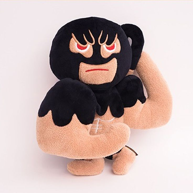 Korea Moblie Game Cookie Run Character Plush Doll 30cm 12in Muscle Cookie #Cookierun