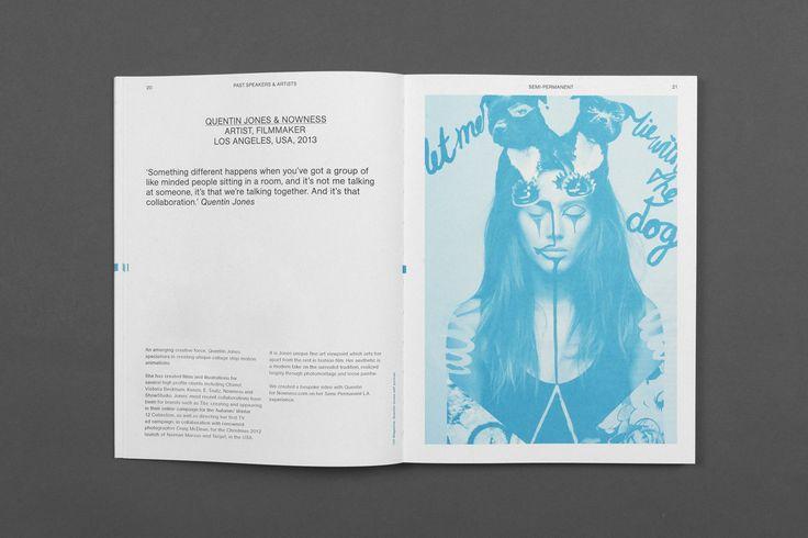M35   Semi-Permanent   Graphic Design   Festival   Sydney   Colorplan   Carriageworks   Typography   Colour   Book   Quentin Jones   Layout