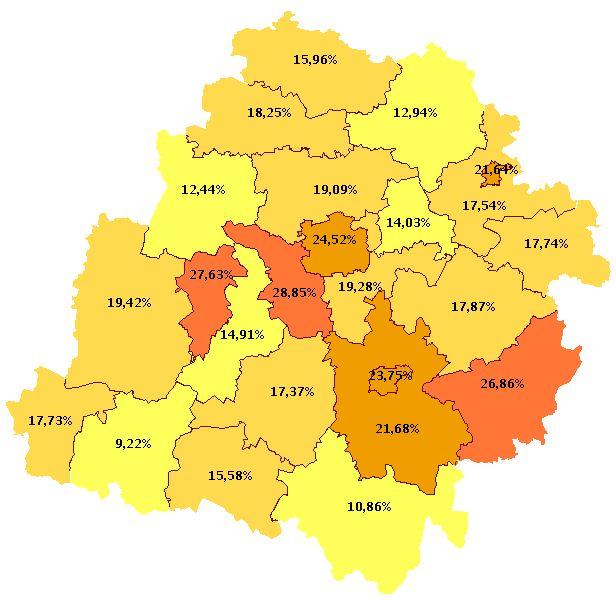 Wszyscy profesjonalni menadżerowie projektów z województwa łódzkiego. #łódzkie #projekt #menager