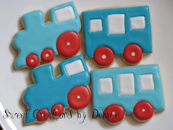 Sweet Creations by Debbie: Train Cookies