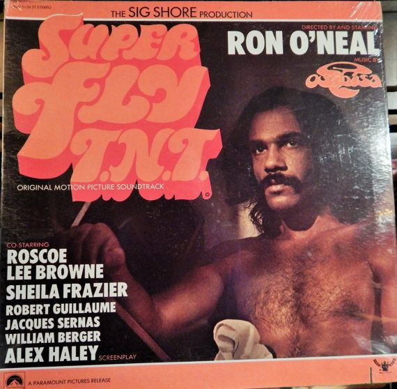 "Superfly TNT (1973 music Osibisa; performers Teddy Osei, Mac Tontoh, Gordon Hunte, Robert Bailey) Mint 12"" Vinyl LP Original Soundtrack"