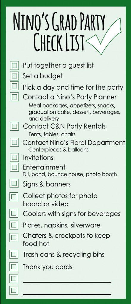 Planning A Capsule Wardrobe: Graduation Party Planning: A Checklist