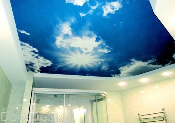 We can print anything  on the ceilings. Best ceiling for your Home or Business. Materials have CE marking .Install any stretch ceilings of any complexity. Use of high-quality stretch fabric allows you to hide any defects and form a perfect ceiling surface. No mold no cracks no mess and dust during installation forget about painting More information http://aleceiling.com/ Call 0867315382 100% Best#xtor=CS1-41-[share]
