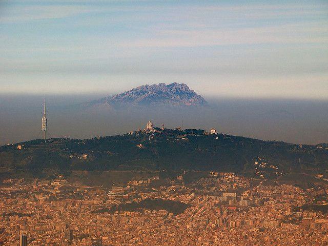 Barcelona, torre Collserola, Tibidabo, Montserrat | Flickr - Photo Sharing!