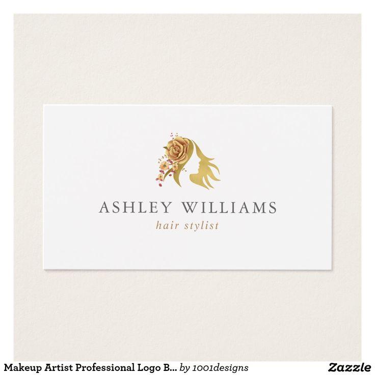 36 best Makeup Artist Professional Logo Beauty Salon Business Card - professional invitation template