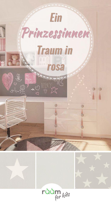 Sweet Dreams - Eine Gestaltungsidee für ein Mädchenzimmer in rosa in ...