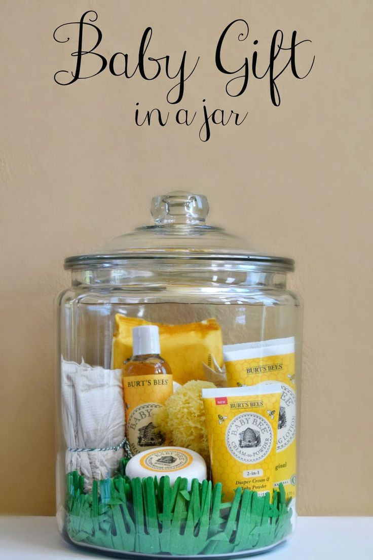 Make This Baby Gift In A Jar Filled With Natural Care Products