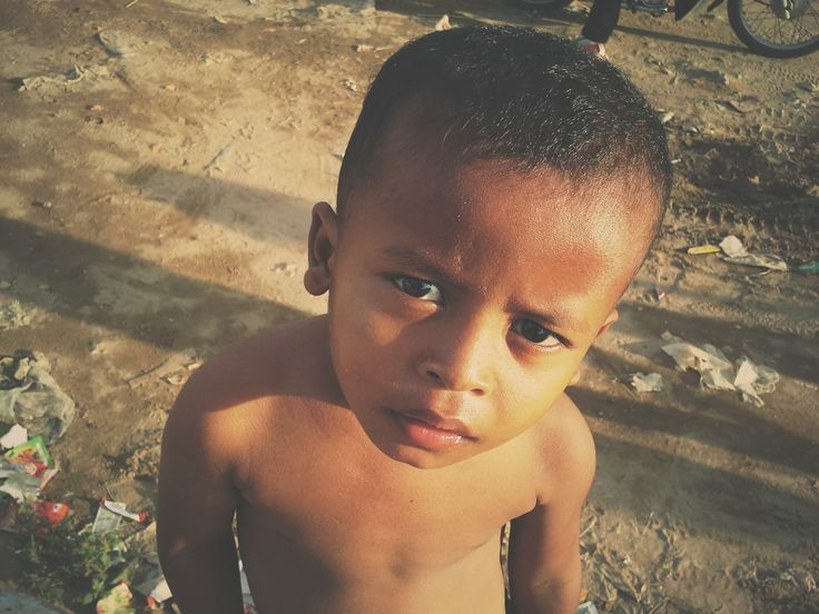 A boy a the slums of Phnom Penh