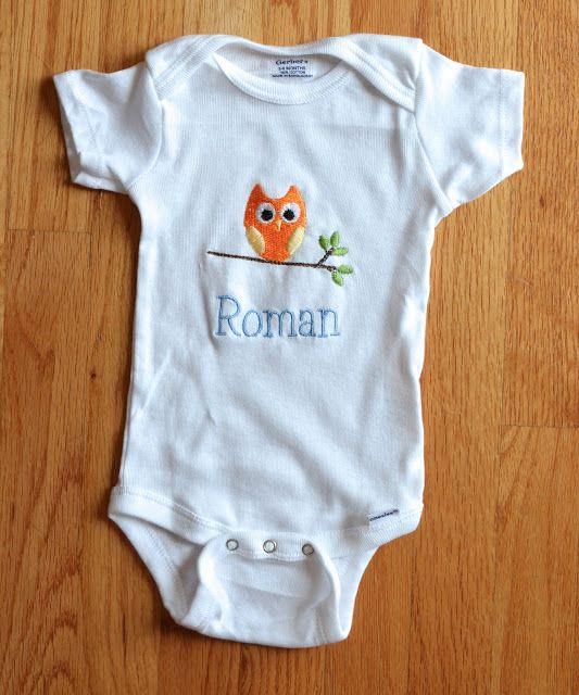 Andrea Lynn HANDMADE: Woodland Animal Baby Gift Set
