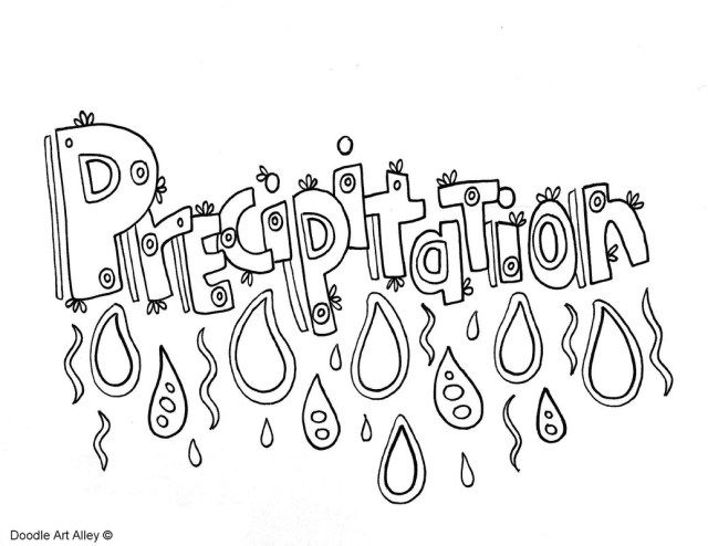 Exclusive Picture Of Water Cycle Coloring Page Printable