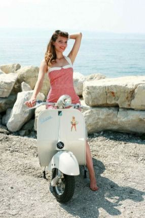 Scooter Girl Vespas 94