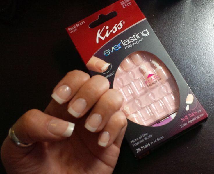 Kiss Everlasting French Manicure Nails #influenster | Spring Fling ...