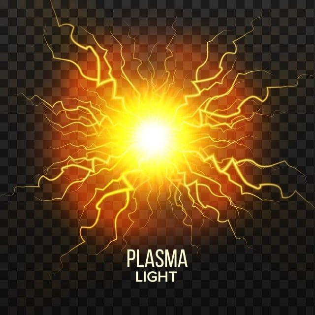 Fireball Plasma Vector Lightning Effect Magic Explosion Voltage Sphere Realistic Isolated Transparent Illustration Electric Vector Lightning Png And Vector W In 2021 Lightning Plasma Fire Vector