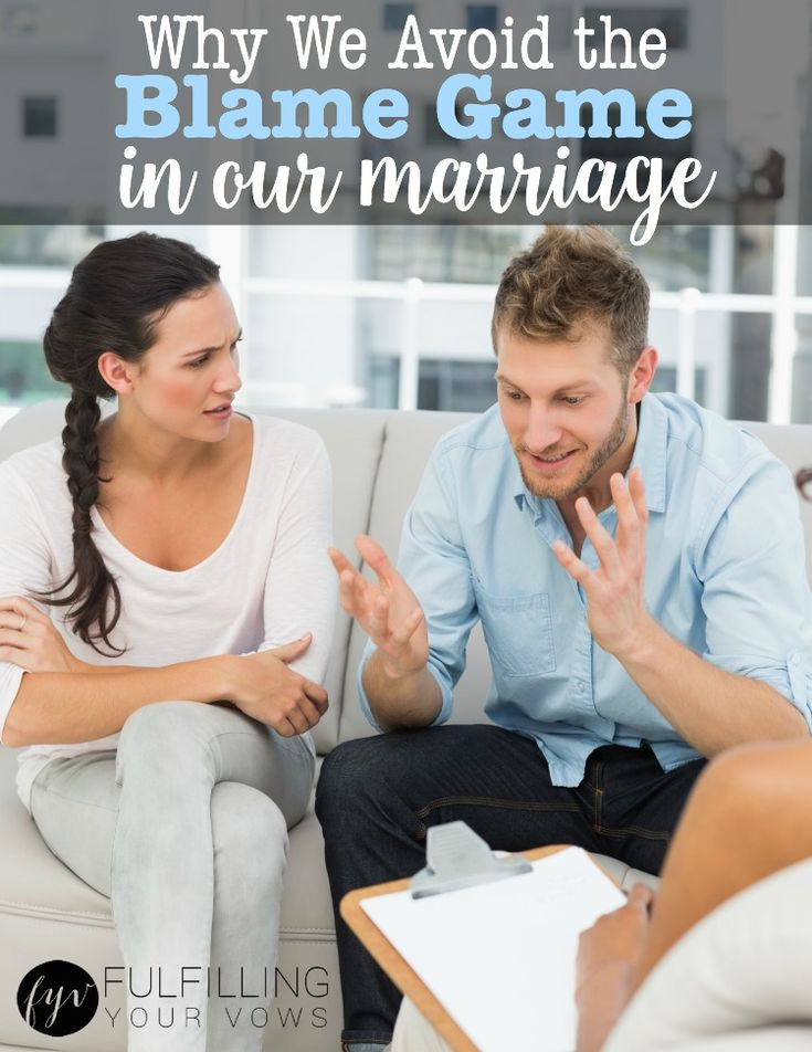 Why we Avoid the Blame Game in our Marriage :: fulfillingyourvows.com