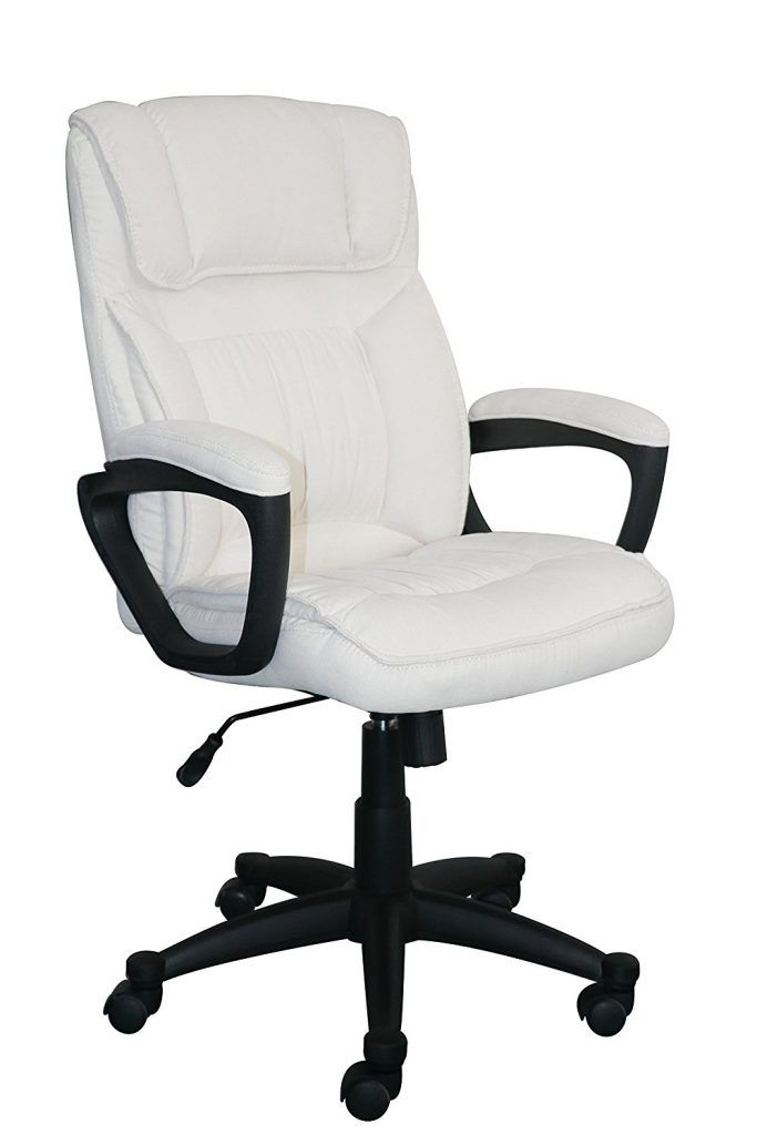 White Office Desk Chair Rabochie Kresla Kreslo