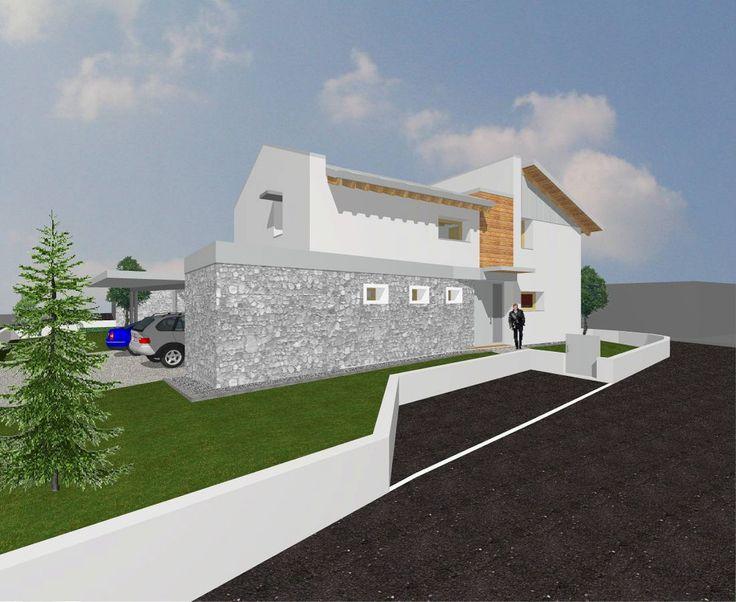 Progetto abitazione - Porcia (Pordenone) - Arch. Biscontin Marco