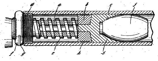 Drawing for British patent GB101108 (A) of August 17 1916.