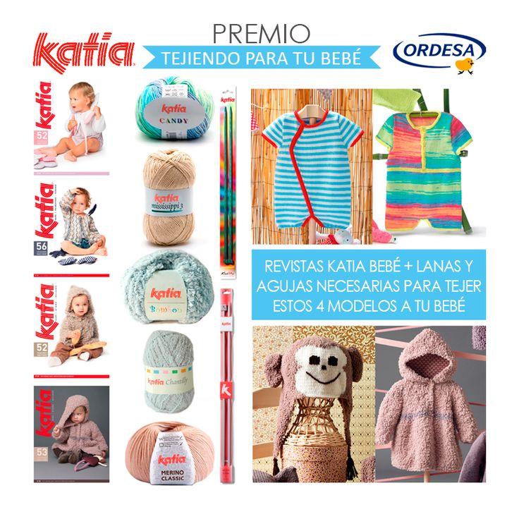 Concurso Tejiendo para tu bebé | http://www.katia.com/blog/es/2014/03/07/concurso-katia-ordesa-tejiendo-para-tu-bebe-patron-gratuito/