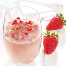 Frozen-Joghurt-Smoothie (SojaJoghurt und Agavendicksaft!)