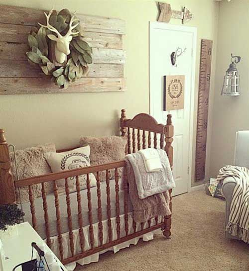 Nursery Ideas - Rustic