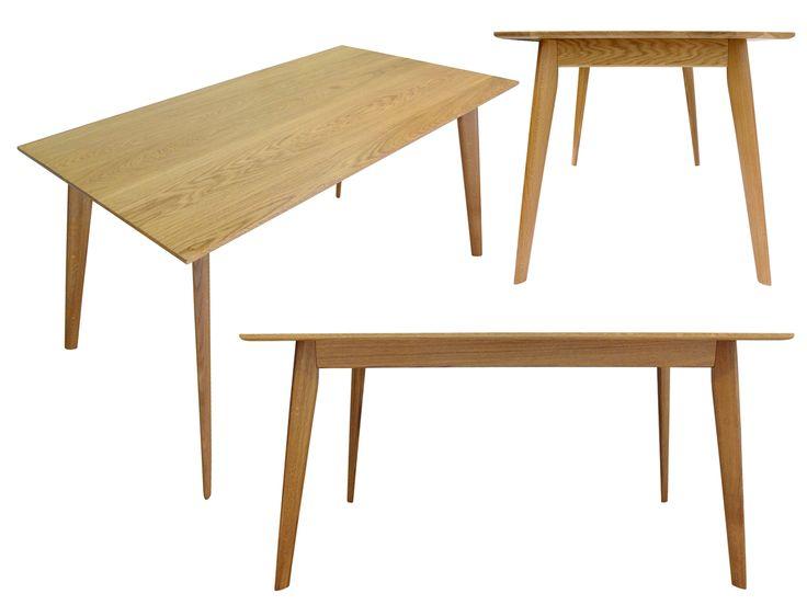 Stół (do jadalni) Franz, lite drewno (dąb) / Esstisch (aus Massivholz - Eichenholz) Franz