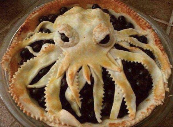 Cthulu pie.