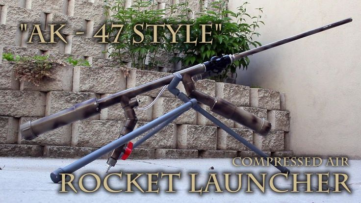 How to Make a Powerful Handheld Rocket Launcher from PVC and Sprinkler Parts « Hacks, Mods & Circuitry