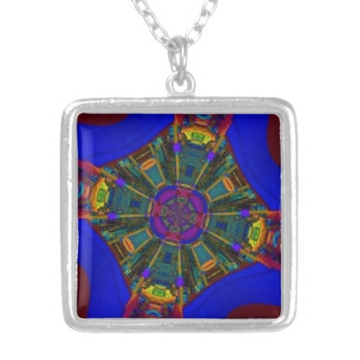 Abstract King's Dining Space Necklace